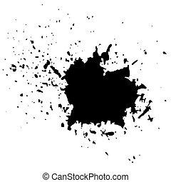 Grunge Ink Background