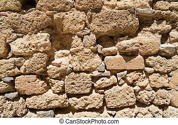 fragment of the fortress wall jousting - a fragment of the...