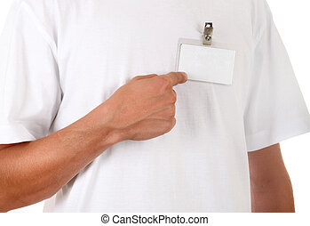 Person show on the Badge - Person shows Blank Badge on the...