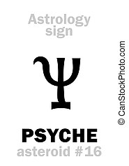 Astrology: asteroid PSYCHE - Astrology Alphabet: PSYCHE,...