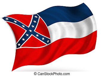 Mississippi (USA) flag