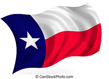 Texas USA flag