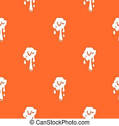 Dripping slime pattern seamless - Dripping slime pattern...