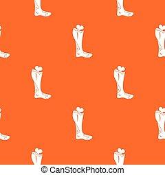 Zombie leg pattern seamless