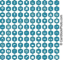 100 tension icons sapphirine violet - 100 tension icons set...