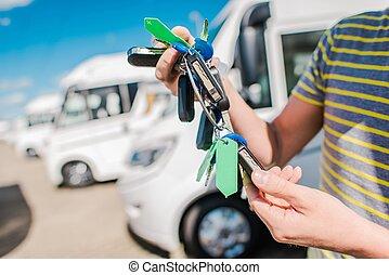 RV Motorhome Salesperson - RV Camper Vans and Motorhomes...