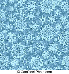 Seamless light blue christmas pattern. EPS 8 - Seamless...