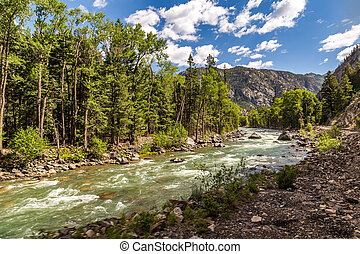 A trip up the Animas River - A train ride leaving from...