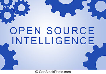 Open Source Intelligence concept