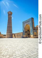 Kalyan minaret, Bukhara, Uzbekistan - Kalyan minaret and...