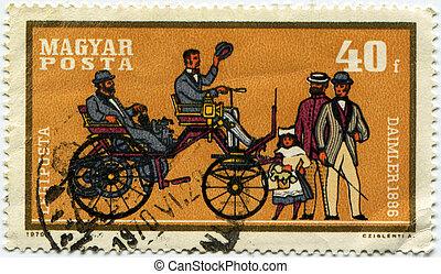 Daimler - 1896 year