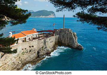Castello - an old Venetian fortress from the XVI century in...