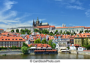 Castle and catherdal in Prague