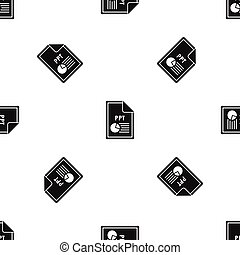 File PPT pattern seamless black - File PPT pattern repeat...