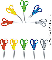 scissors color set 01
