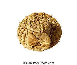 anticaglia, cappello paglia