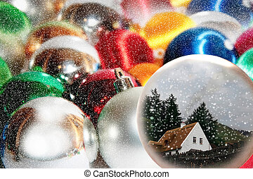 wishing to be at home for christmas - a concept of i wishing...