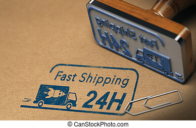 Fast Shipping, Twenty Four hours or One Day
