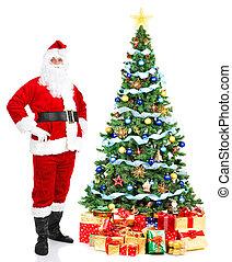 navidad,  santa
