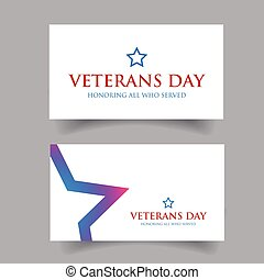 Veterans Day Usa design vector