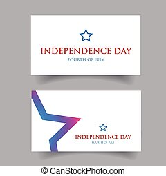 Independence day Fourth of July vector