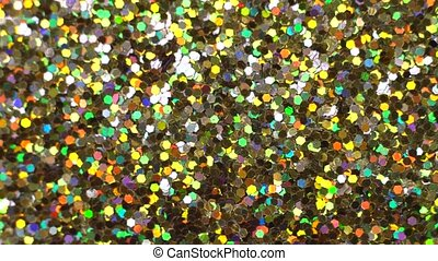 Abstract background with shining glitter