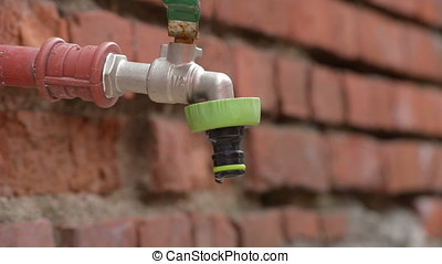 faucet that loses water in drops - faucet that continuously...