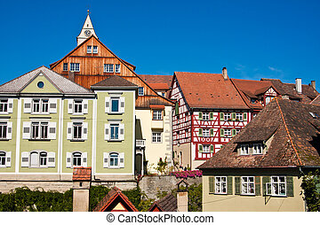 Meersburg at Lake Constance, Germany