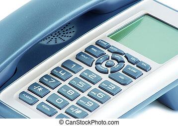 phone keypad - close up shot of blue phone keypad