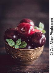 Group of cherries