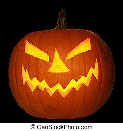 Halloween Jack-O-Lantern Pumpkin - Scary halloween pumpkin...