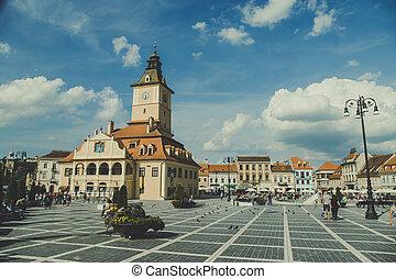 City of Brasov, Transylvania Romania