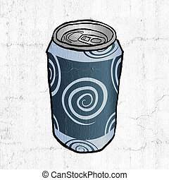 drink metal can