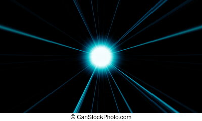 Abstract background with futuristic disco ball. 3d render