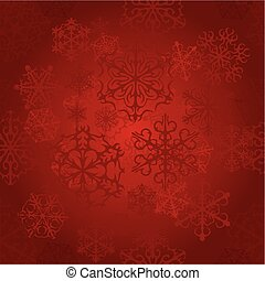 Snow Seamless Red Vector Background. Seamless Background...