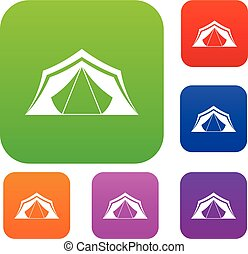 Tent set collection