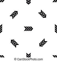 Striped arrow pattern seamless black - Striped arrow pattern...