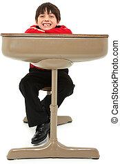 Child Desk Student Work