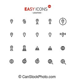 Easy icons 35a Location
