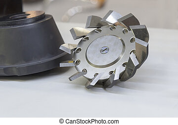 The CNC special milling cutter