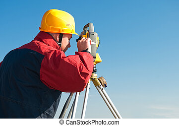 surveyot theodolite works