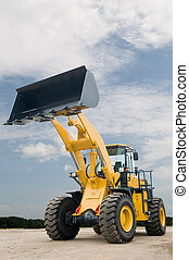 front end loader machine - One Loader excavator construction...