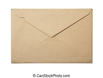 vintage packet for correspondence