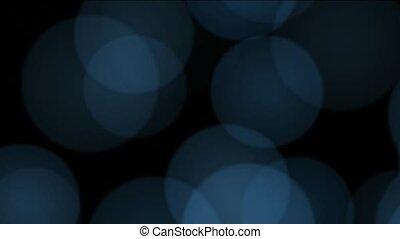 defocused circle lights