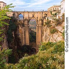 Puente Nuevo, New Bridge, in Ronda, Spain