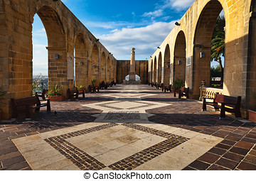 Upper Barrakka Gardens, Malta - Valletta's most beautiful...