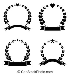 Wreaths Vector Collection
