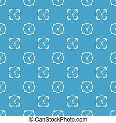 Watch pattern seamless blue - Watch pattern repeat seamless...
