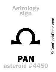 Astrology: asteroid PAN - Astrology Alphabet: PAN, asteroid...