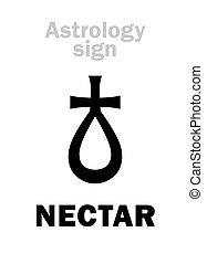 Astrology: asteroid NECTAR - Astrology Alphabet: NECTAR,...